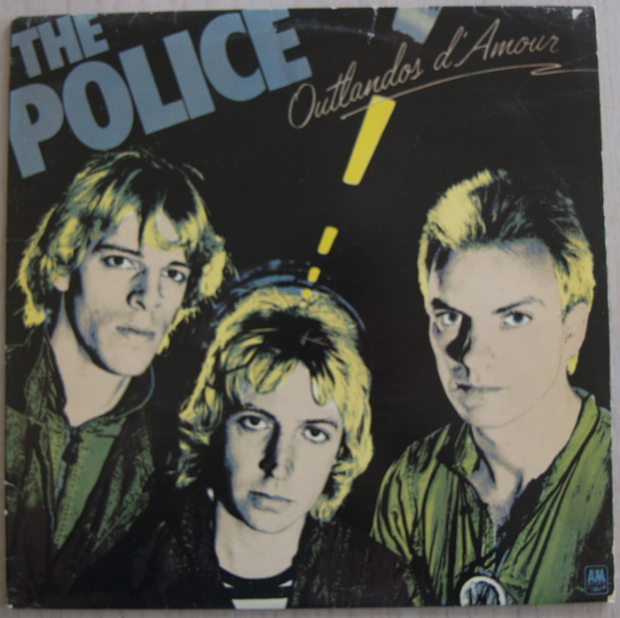 The Police 1980 Zenyatta Mondatta Oldschool